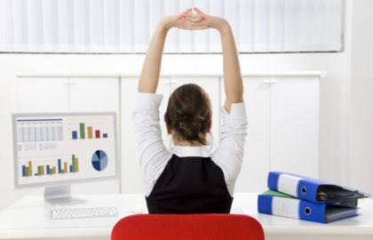 Get Moving: How to Stay Healthy When Working a Sedentary